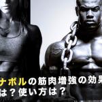 ダイアナボルの筋肉増強の効果は?副作用は?使用方法は?